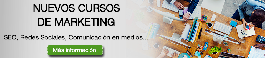 Nuevos cursos de Marketing